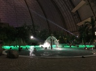 Lagune bei Nacht - Tropical Island