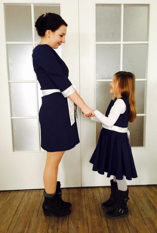 Partnerlook Kleider von uniqueStyler, Mama Tochter Kleider