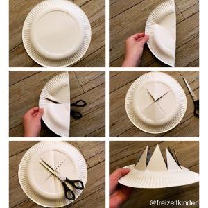 DIY Krone aus Papptellern